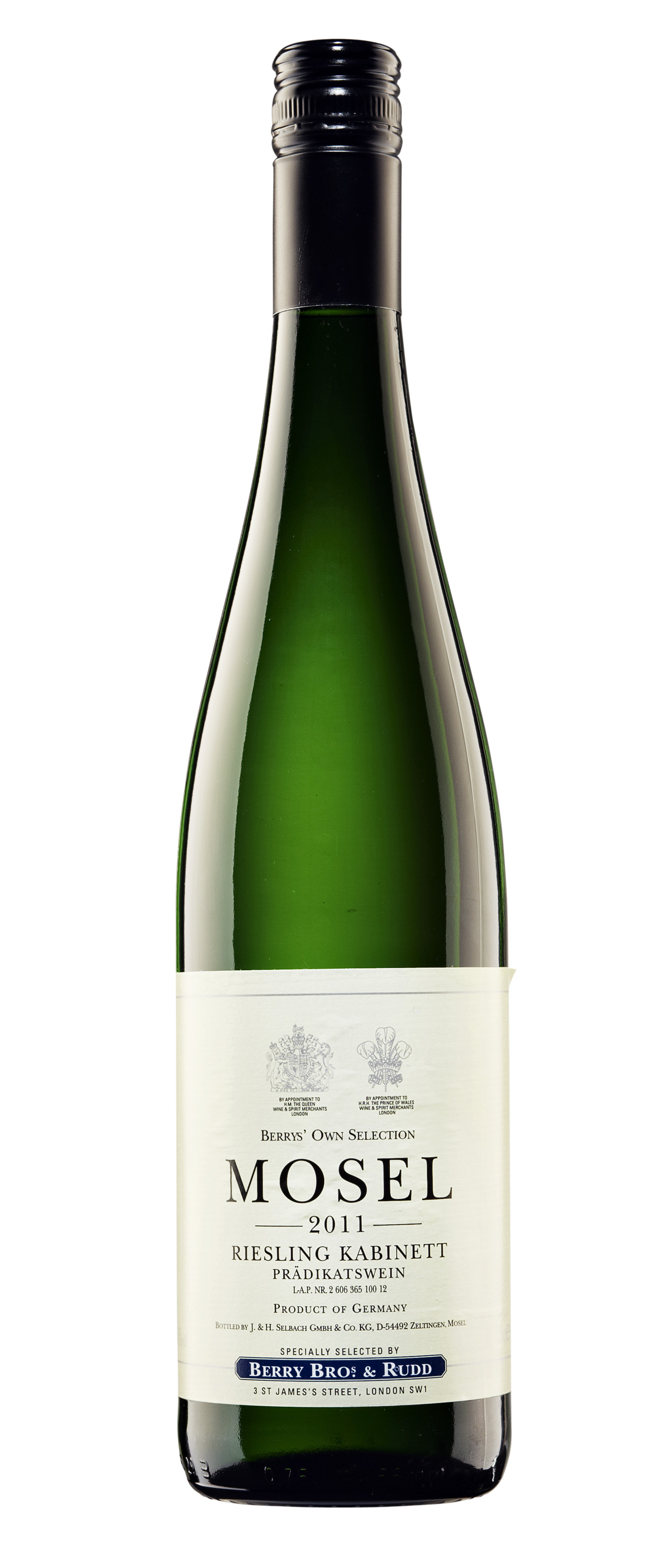 Berry's Mosel Riesling Kabinett 2011 J & H Selbach
