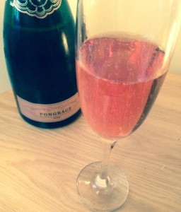 Pongracz Sparkling Rosé wine from South Africa